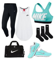 """Nike"" by taylornb6102 on Polyvore featuring NIKE"