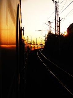 Interrailing Europe - Waking up on a night train.