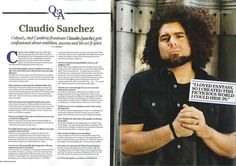Claudio Sanchez is probably the most talented artist today.
