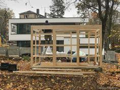 Designer Gartenhaus @gart 3 L in 09114 Chemnitz | design@garten Designer, Pergola, Garage Doors, Shed, Home And Garden, Mansions, Landscape, House Styles, Outdoor Decor