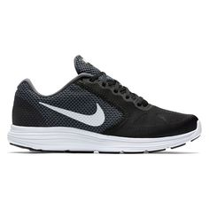 Nike Revolution 3 Men's Running Shoes, Size: 10.5 4E, Black