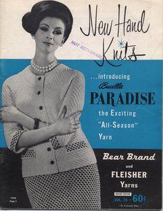 New+Hand+Knits+introducing+Bucilla+Paradise+-+Vol+70+-+Knitting+Patterns