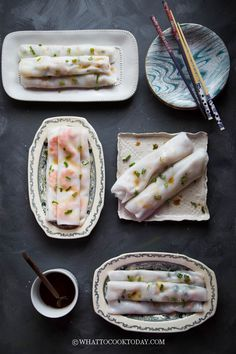 Homemade Cheung Fun (Steamed Rice Noodle Rolls)- 5 Ways. Learn how to make cheung fun easily at home using tools you already have in 5 ways: plain cheung fun, shrimp cheung fun/har cheung, dried shrimp, char siu cheung, and zha leung cheung fun.