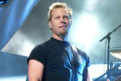 James Hetfield; unable to locate photog credit
