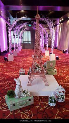 Wunderlich Ambientaciones Torre Eiffel