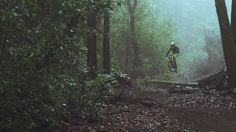 Fuzzbox – A split-personality view of Tyler McCaul as he rides some gorgeous California forest trails, and then hits the jumps.