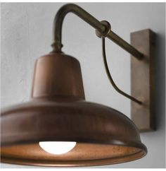 Time to celebrate spring with this classic exterior wall light. No excuse to stay in anymore. Enjoy the longer warm evenings. Copper Lamps, Copper Lighting, Brass Lamp, Luxury Lighting, Outdoor Lighting, Copper Wall Light, Rustic Lighting, Exterior Wall Light, Exterior Lighting
