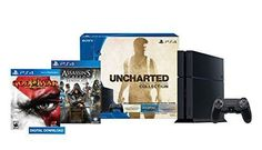 #AmazonCA #AmazonCanada: PS4 500GB Uncharted Collection Bundle  Assassin's Creed Syndicate  GOW 3 $369.99 http://www.lavahotdeals.com/ca/cheap/ps4-500gb-uncharted-collection-bundle-assassins-creed-syndicate/46941