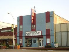 Iris Theatre, Terrell, Texas. The theatre was opened by owner, Leman Marshall on Sept.1, 1925. Its first feature was a movie staring Norma Tallmadge. Tickets cost 25 cents for adults. Its original neon colors of the sign are correct