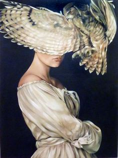 Fascinating Athena | Oil on canvas 70x100cm