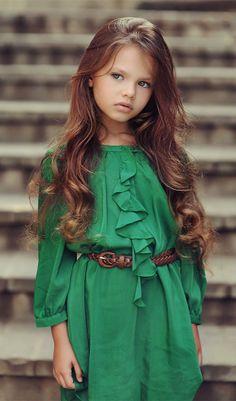 Russian child model Diana Pentovich.