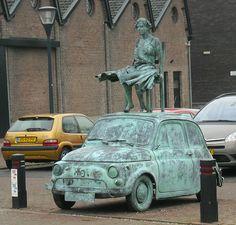 Fiat 500 Sculptur by Holland - Bus