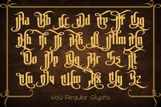 The Pontifice. Hello friends, let me introduce my new gothic typeface - the Pontifice. Tattoo Lettering Design, Gothic Lettering, Chicano Lettering, Graffiti Lettering Fonts, Gothic Fonts, Script Lettering, Typography Fonts, Graffiti Tattoo, Gotisches Alphabet
