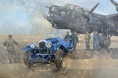 Able Mable and the blue Lagonda - Peter Miller