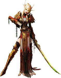 Blood elf. World of Warcraft.