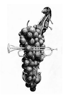 Great: Jazz & #Wine by Marc Crespí Ripoll, via Behance #design