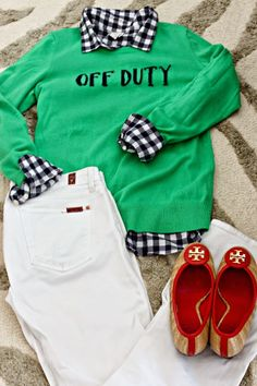 """Lilly Pulitzer """"Off Duty"""" sweater--{St Thomas} What I Wore   Southern State of Mind"""