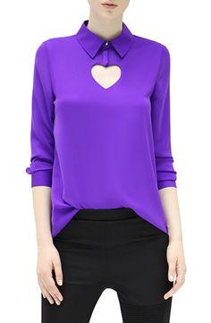 Cocobella - Anna Shirt in Purple