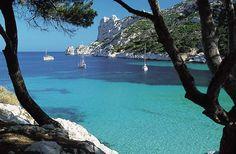 Calanques  - near Marseille, France