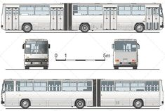 Buy Vector Articulated Public Bus by Mechanik on GraphicRiver. Available AI, CDR and EPS vector formats separated by groups and layers for easy edit. More vector transportation ill. New Luxury Cars, Luxury Bus, Logo Google, Car Themed Nursery, Vintage Car Nursery, Bus City, Train Illustration, Cool Car Drawings, Truck Detailing