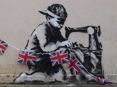 Banksy Goes To The Olympics And Challenges London Authorities