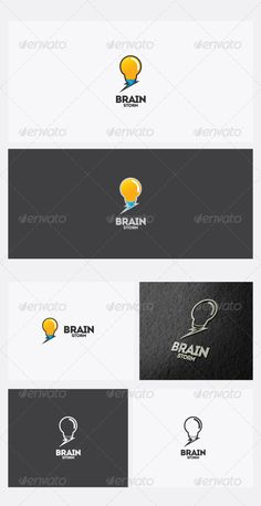 BrainStorm Logo Template — Vector EPS #creativity #printing • Available here → https://graphicriver.net/item/brainstorm-logo-template/2766285?ref=pxcr
