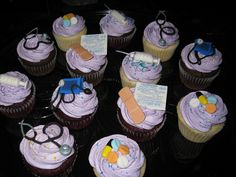 nursing cupcake toppers - Google Search