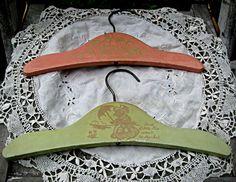 Set of 2 child's clothes hangers nursery by LittleBeachDesigns, $18.00