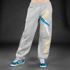 Dangerous DNGRS Super Mics Sweat Pants Grey Melange
