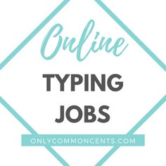 Legit Work From Home, Online Work From Home, Work From Home Jobs, Make Money From Home, How To Make Money, Best Money Saving Tips, Money Tips, Saving Money, Online Typing Jobs