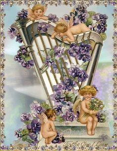 Victorian Angels - angels Photo