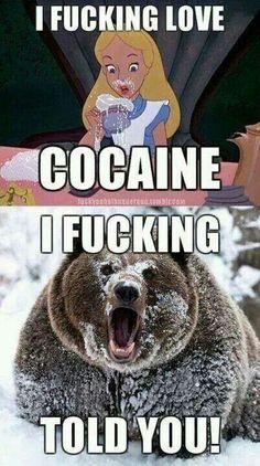 Cocaine bear. Lol
