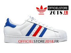 superstar homme bleu blanc rouge