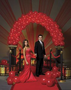 Decorations for a Quinceanera - Hollywood Theme Quinceanera - Mis Quince Mag