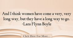 Lara Flynn Boyle Quotes About Women - 73547
