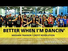 """Better When I'm Dancin"" || Meghan Trainor || Fitness Choreography || RE..."