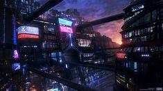 sci fi city modeling maya - Recherche Google