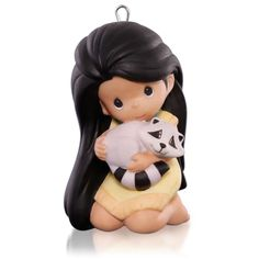 Disney Precious Moments Pocahontas Ornament