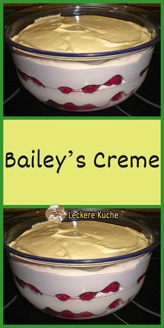 Baileys Irish Cream, Deserts, Pudding, Food, Bakery Recipes, Cool Desserts, Desserts, Puddings, Meals