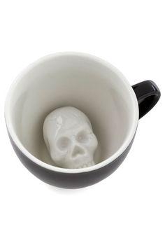Will's Presentation Skulls Mug, #ModCloth