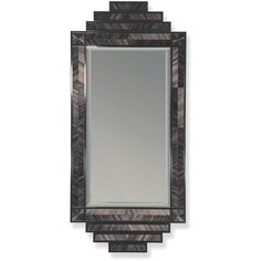 Lombard Mirror (24.950 RUB) ❤ liked on Polyvore featuring home, home decor, mirrors, black mirror and black home decor