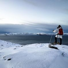 Exploring the Arctic landscape near the most northern City of the world – Hammerfest, Norway