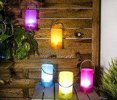 Farolillos LED para el jardín -Leroy Merlin