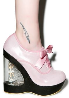 Irregular Choice Glissade Ballerina Wedges