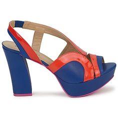Sandalen Cristofoli CAROLE Blauw - Oranje