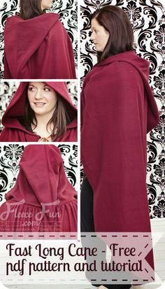 Una capa es el remedio ideal para el frío de otoño #Singer #amocoser #yolohice