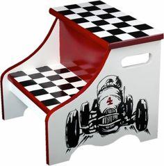 Racing Car Step Stool