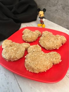 This is an egg-free, baked chicken nugget recipe made from scratch and inspired by Mickey Mouse Homemade Chicken Nuggets, Baked Chicken Nuggets, Chicken Nugget Recipes, Healthy Meals For Kids, Dinners For Kids, Quick Easy Meals, Kids Meals, Healthy Food, Healthy Breakfast For Kids