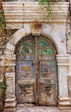 Rethymno, Crete, Greece door