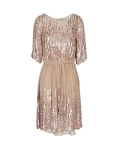 Classy Pink Sequin Dress